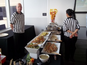 Brulee Catering Spread