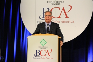 Ron Jaworski, Emcee & CEO of Business Clubs America