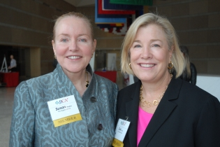Dr. Susan Hughes and Sue Schick
