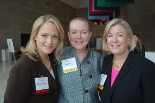 Mary Pat, Dr. Hughes and Sue Schick