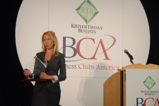 Joleen announces the BCA VIP member