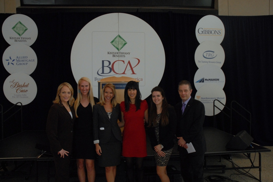 BCA team and Laura Ling