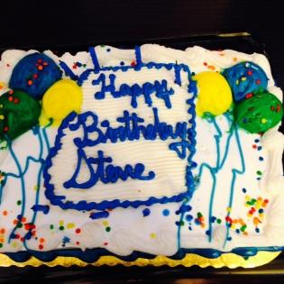 Steve Birthday Cake