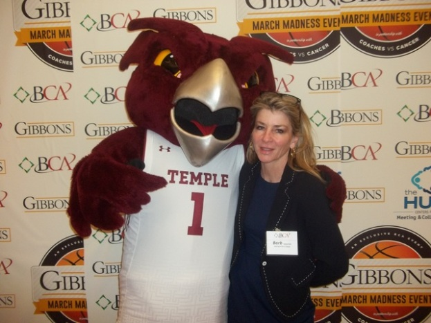 Barb Augustine - Temple Mascot