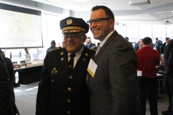 Commissioner Ramsey & Al Perlini