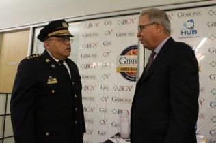 Commissioner Ramsey & Ron Jaworski
