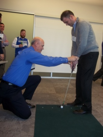 Golf Instructor Lesson