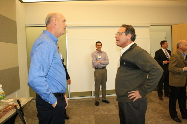 Jim Bromley & Larry deGarraville