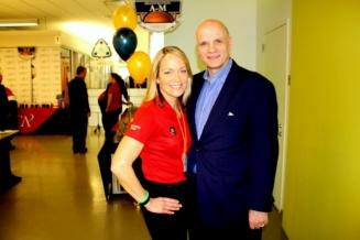 Mary Pat Kessler and Phil Martelli