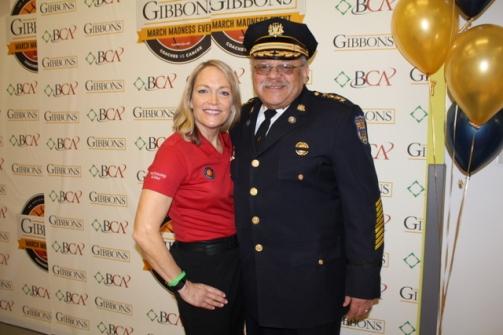 Mary Pat Kessler & Commissioner Ramsey