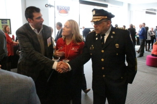 Stew Anmuth, Mary Pat Kessler, Commissioner Ramsey