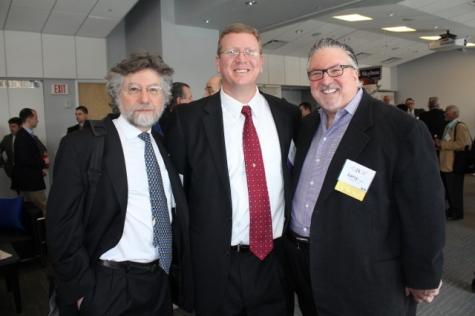 Ted Simon, Alan Gries, Larry Cohen