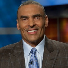 Wednesday, March 4, 2009 -- Bristol, CT -- NFL Live with analyst Herm Edwards