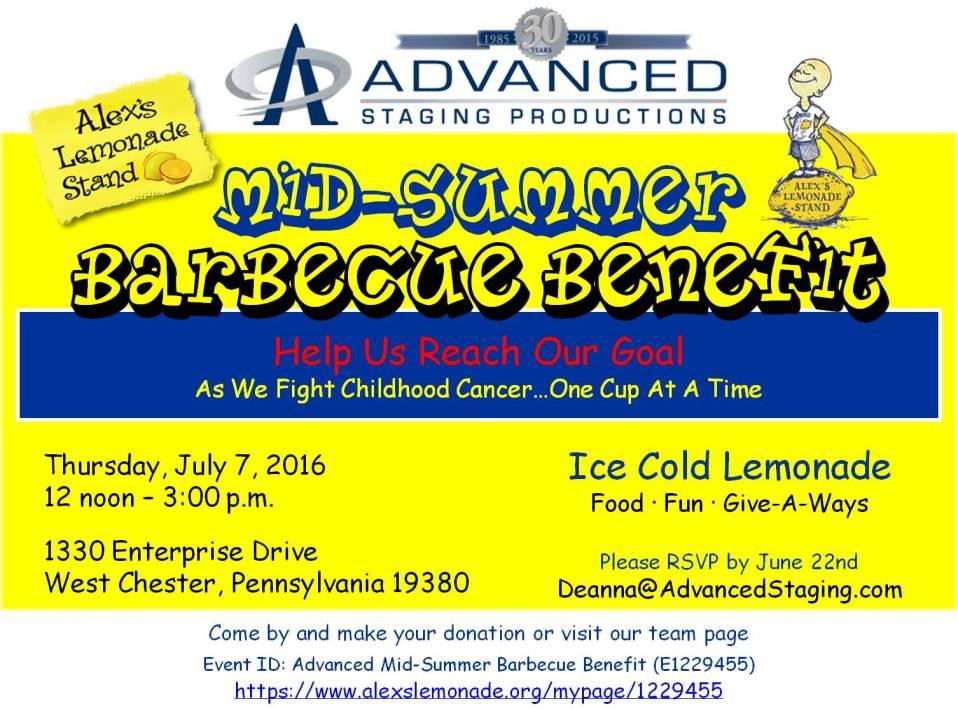 ASP ALSF Summer BBQ Benefit